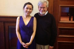 2013.12.06 Project Recital at University of Illinois at Urbana-Champaign Pianist/ Ya-Wen Wang with Thesis Advisor Dr. Reid Alexander