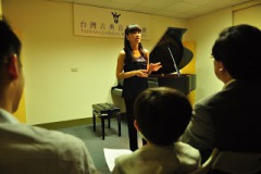 2012.05.26 Lecture Piano Recital at 台灣古典音樂協會 Pianist/ Ya-Wen Wang