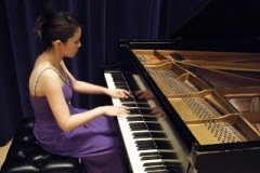 2010.03.27 Solo Piano Recital at Indaina University- Jacobs School of Music Pianist/ Ya-Wen Wang with Prof. Reiko Neriki