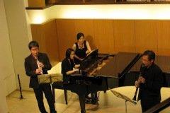 2009.05.30 Chamber Recital at 台北市音樂理想國 Clarinetists/ Yu-Ting Wu, Yuen-Suo Yang Pianist/ Ya-Wen Wang
