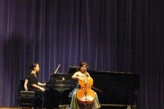 2009.03.10 Cello recital at Indiana University- Jacobs School of Music Cellist/ Ko-Hsin Chang Pianist/ Ya-Wen Wang