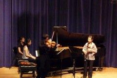 "2008.11.07 Chamber Recital, Bartok ""Contrast"" at Indiana University- Jacobs School of Music Violinist/ Jaime Gorgojo Clarinetist/ Irene Chen Pianist/ Ya-Wen Wang"